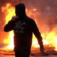 German Riots and Internet Trolls; This Month in Antifa