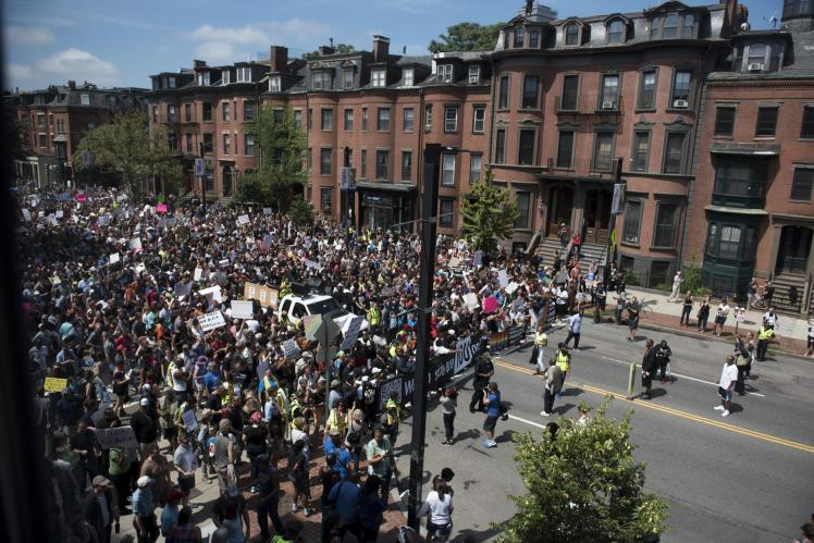 boston march against free speech